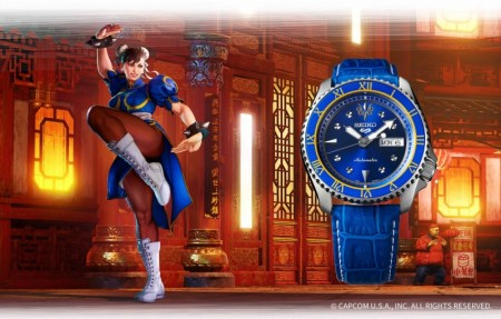 Seiko 5 - Street Fighter